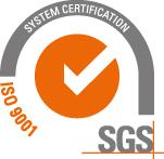 Il marchio di certificazioni di SGS per ISO 9001