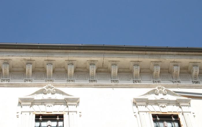 Fregio del Palazzo Centi