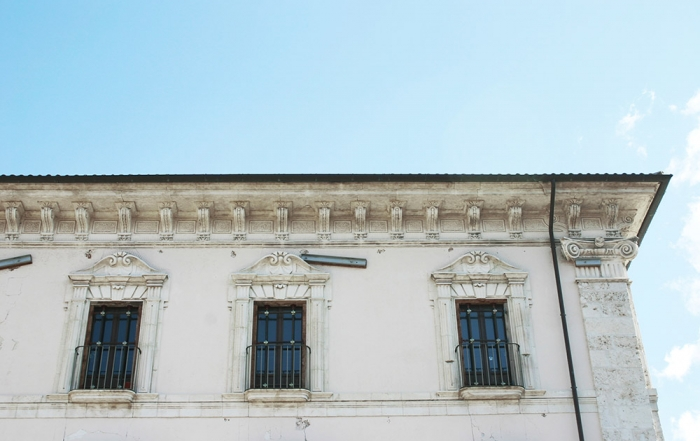 Spigolo del Palazzo Centi
